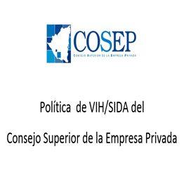 Política sobre el VIH del  COSEP